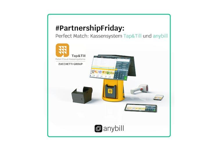 Partnerschaft mit All-in-One Kassensystem Tap&Till