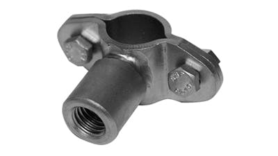 Stainless Saddle Clamp with Boss
