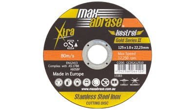 Maxabrase Cutting Disc for Stainless Steel