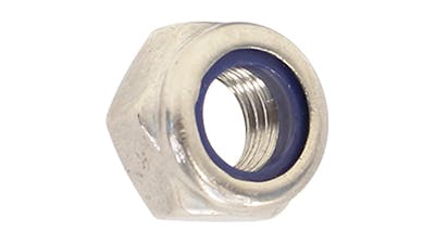Stainless Steel Nyloc Locking Nut