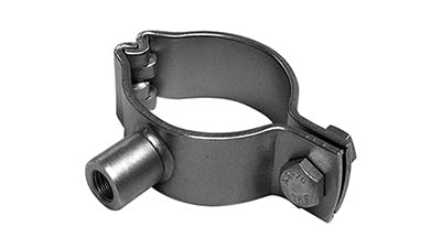 Stainless Pipe Clamp with Boss