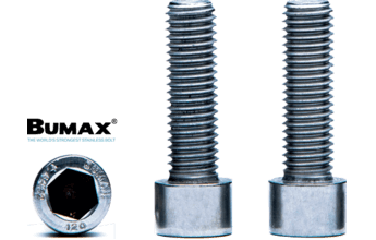 NEW: DUPLEX STAINLESS CAPSCREWS - Greater Strength & Corrosion Resistance than 316 SS