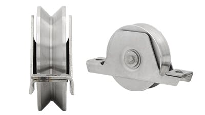 Stainless V Shaped Gate Roller