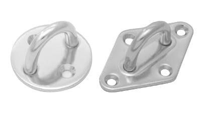 Stainless Eye Pads