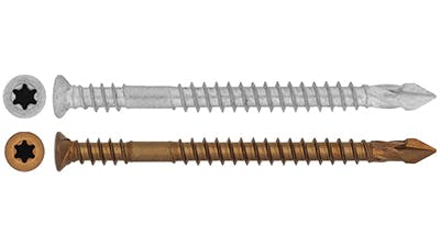 Spear Tip Self Drilling Screw