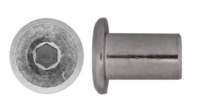 Stainless JCB Barrel Nut