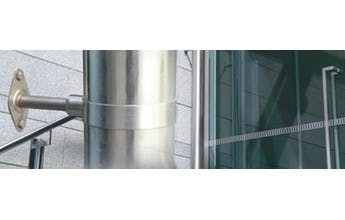 How to install Stainless Down Pipe Brackets