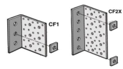 Galvanized Concrete Fixing Cleats