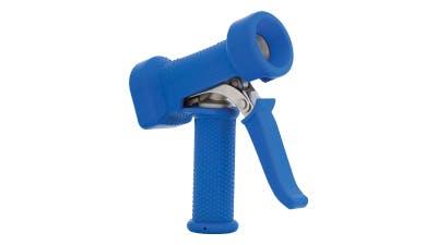 Stainless Blue Silicone Spray Gun