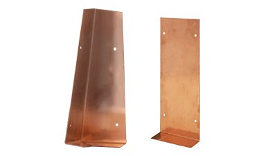 Copper Corner and Flat Soakers
