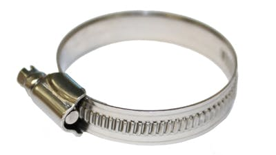 Stainless Non Perforated Hose Clips