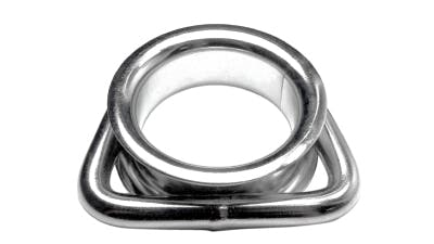 Stainless D Ring with Thimble