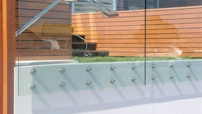 Glass Balustrade Example