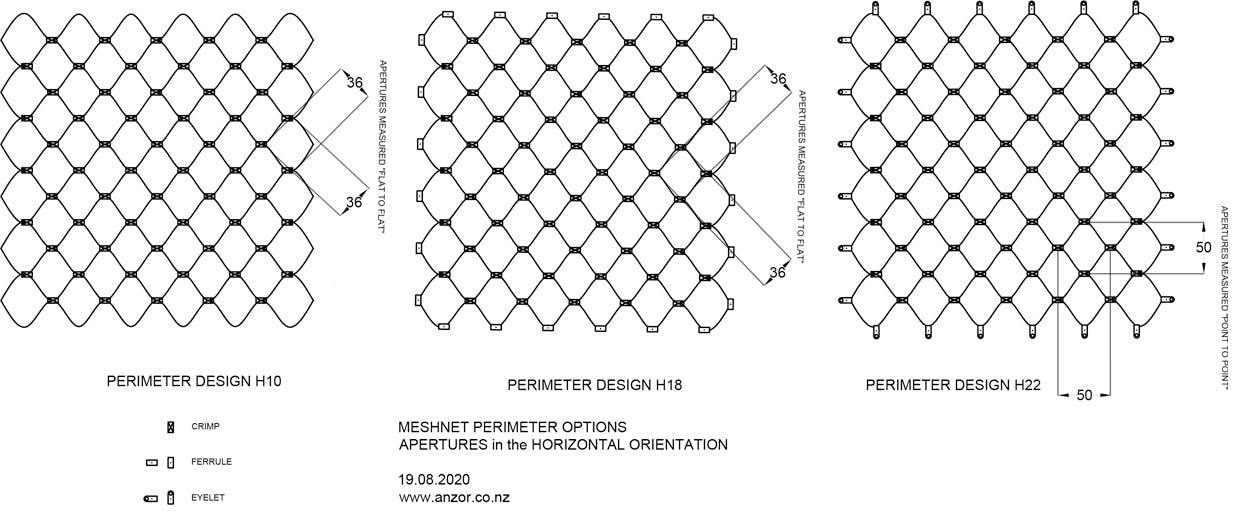 Stainless Wire Horizontal Meshnet