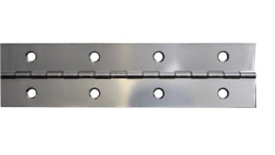 Stainless Steel Drilled Continuous Hinge