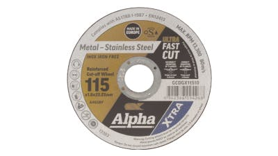 Alpha Cutting Disc for Stainless Steel