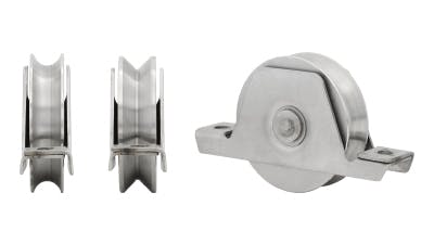 Stainless Steel U and V Shaped Gate Roller