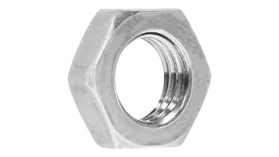 Stainless Steel Thin Hex Nuts