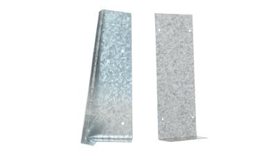 Galvanised Corner and Flat Soakers