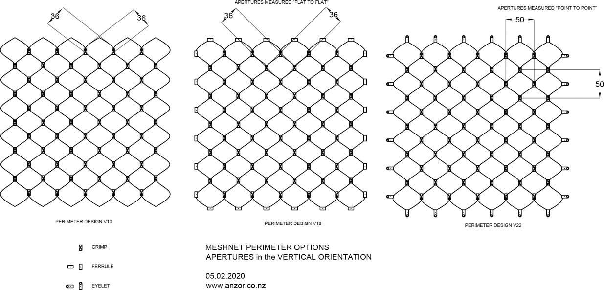 Stainless Wire Vertical Meshnet