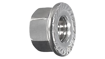 Stainless Flanged Nut