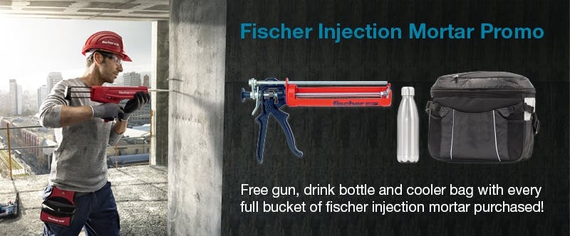 Fischer Injection Mortar Promo