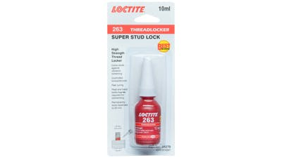 Loctite 263 Thread locker 10ml for Stainless