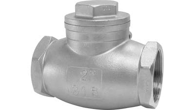 Stainless Swing Check Valve
