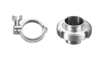 Stainless Steel Sanitary Dairy Fittings