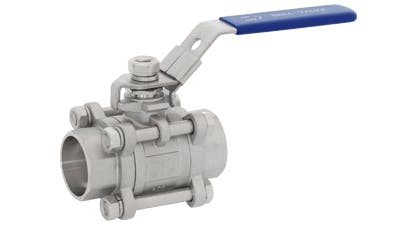 Stainless Weld End Ball Valve