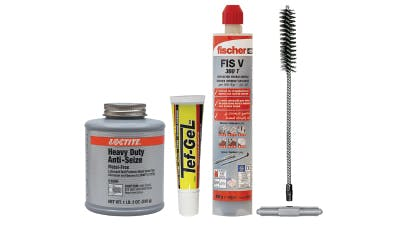Chemical Lubricants, Mortar, Anti-seize and Accessories