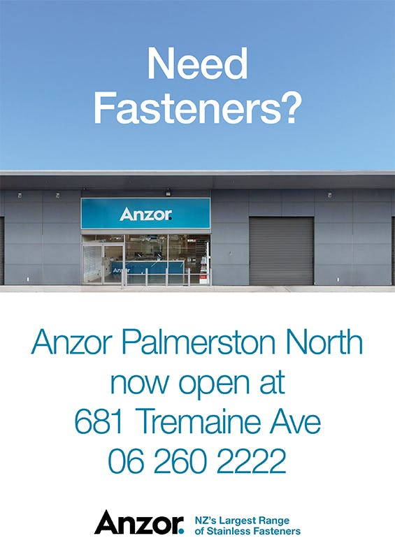 Anzor Palmerston North Now Open!