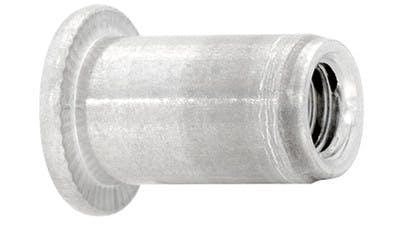 Aluminium Rimmed Threaded Insert