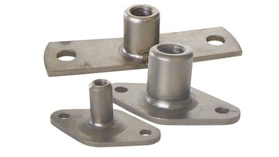 Stainless Heavy Wall Plates for Downpipe Wall Clamps