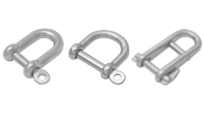 Stainless Marine Shackles