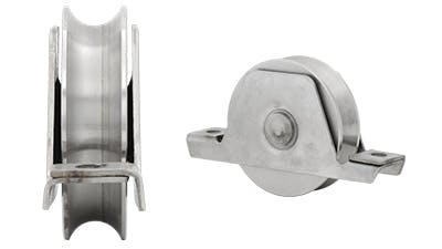 Stainless U Shaped Gate Rollers