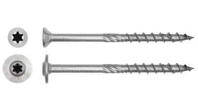 Stainless Csk & HWF Timber Construction Screws
