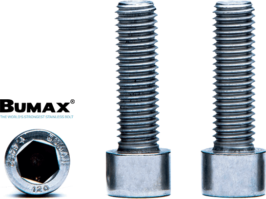 Bumax Sd 129 Cap Screw Logo