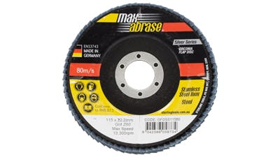 Maxabrase Flap Disc for Stainless Steel