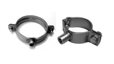 3 After Market Auto /& More Heavy Duty Saddle Style U-Bolt Muffler Clamps with Anti-Rust Coat and Multiple Uses
