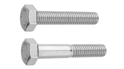 Stainless Steel and Galvanised Hex Setscrew and Bolt