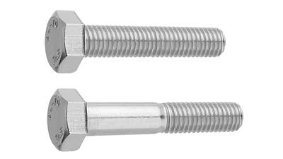 Stainless Hex Setscrew and Bolt