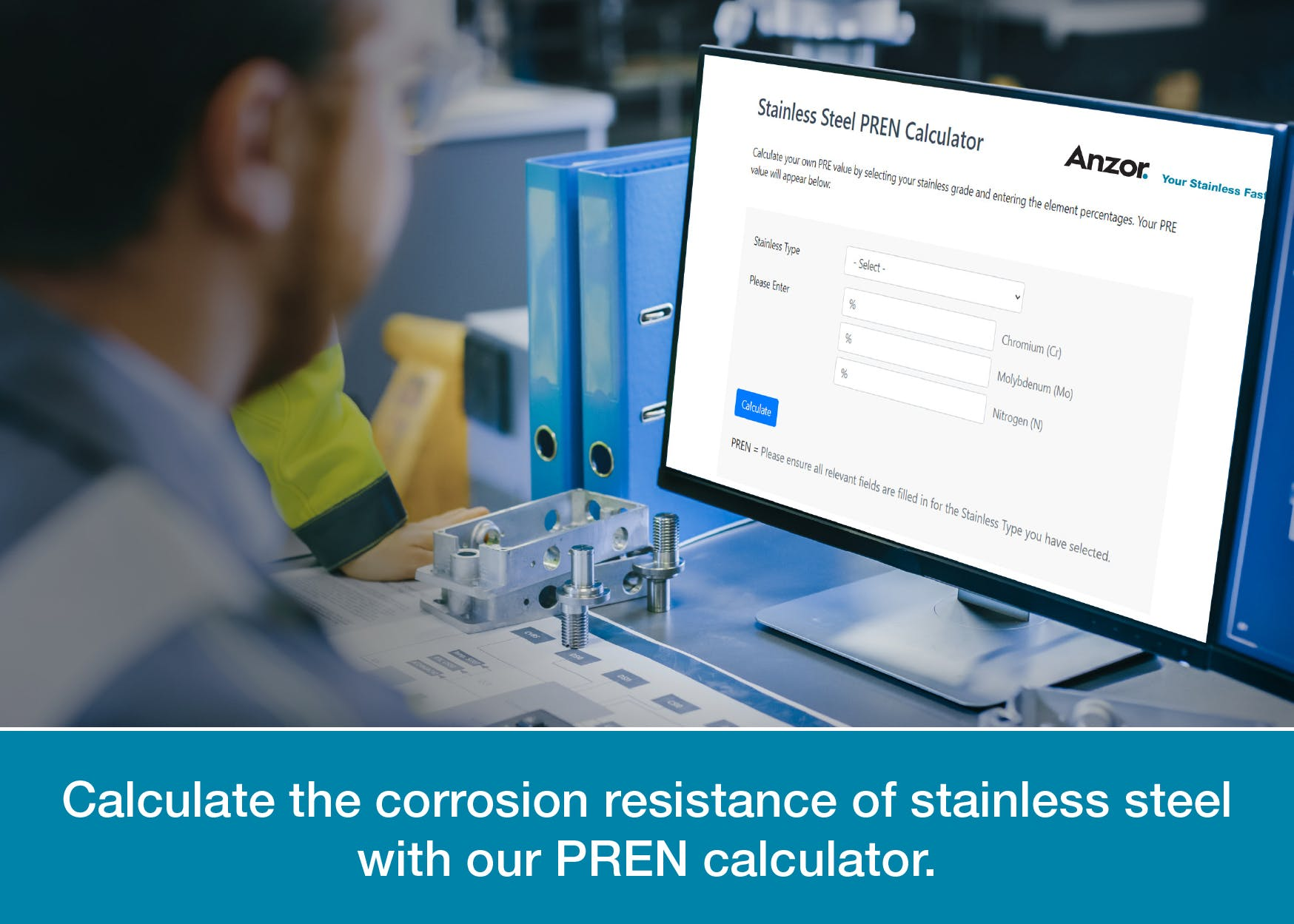 PREN Corrosion Calculator for Stainless Steel