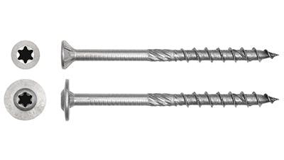 Stainless Steel Timber Construction Screws