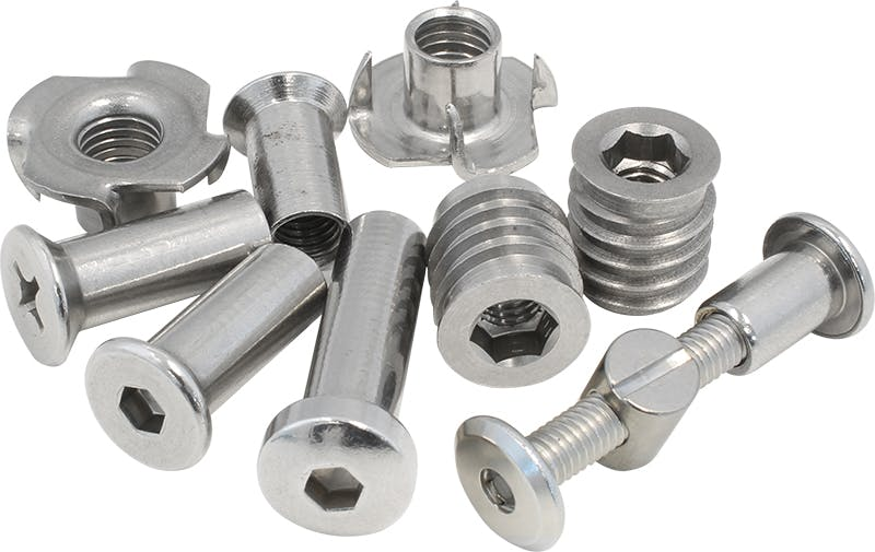 Stainless Steel Barrel Nuts