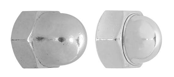 Stainless Dome Nuts