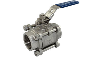 Stainless 3 Piece Ball Valve