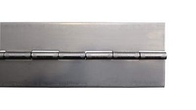 Stainless Undrilled Piano Hinge