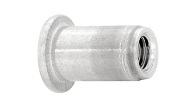 Aluminium Flanged Threaded Insert