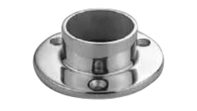 Stainless Handrail Round Base Plate for 2 Inch Tube